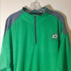 NHL Dallas Stars Green Hockey Sweater Size 2XL